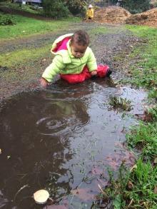 via puddle