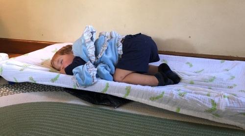 elon sleeping