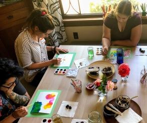 teachers paint